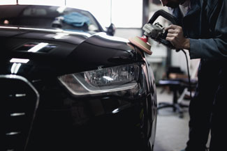 Conventional auto body damage repair services at Dent Busters in Tucson, Arizona